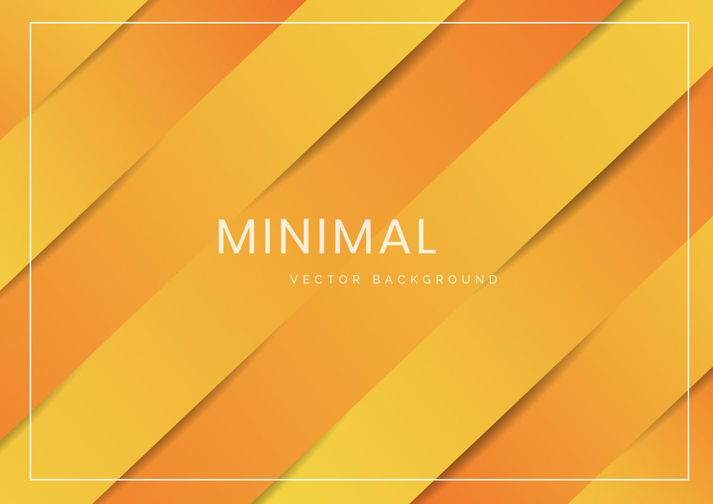 abstrakt, modern, diagonal gul och orange bakgrund vektor