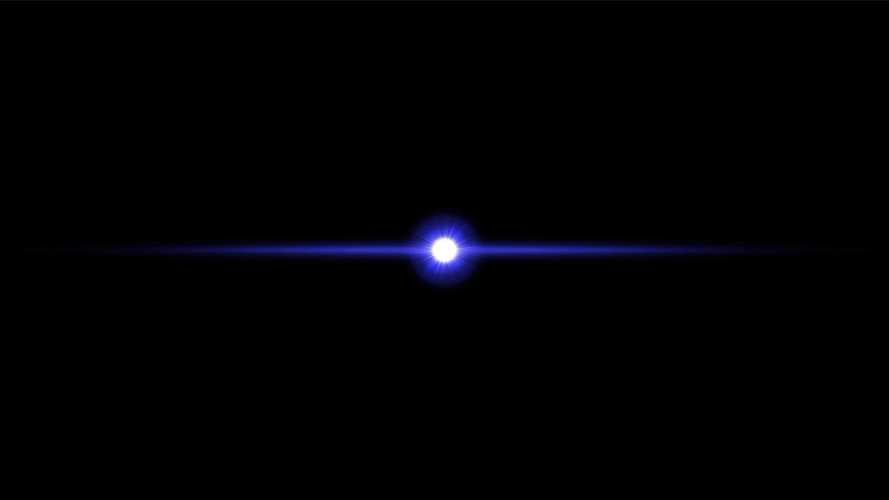 lins flare ljuseffekt vektor