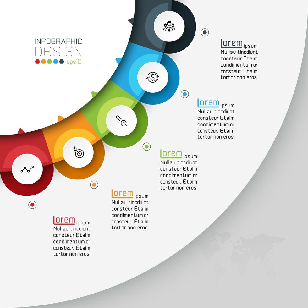 Neue Ideen können verwendet werden, um das Unternehmen zu erklären vektor