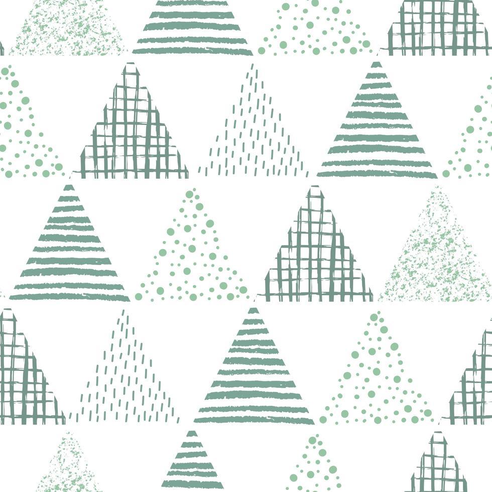 abstraktes geometrisches nahtloses sich wiederholendes Muster vektor
