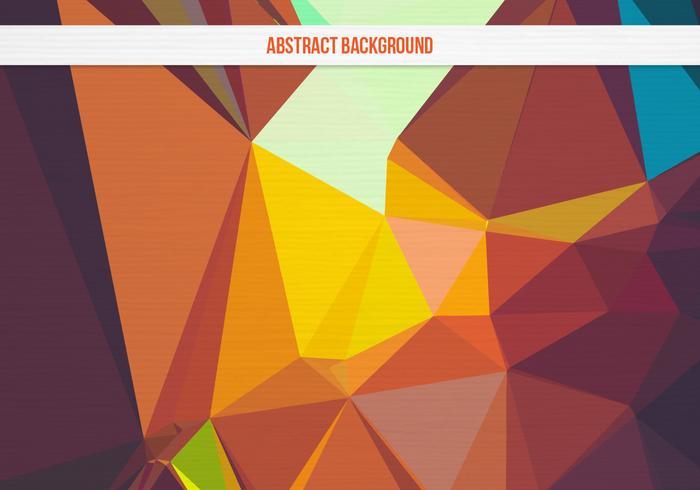 Free Vector bunten geometrischen Hintergrund