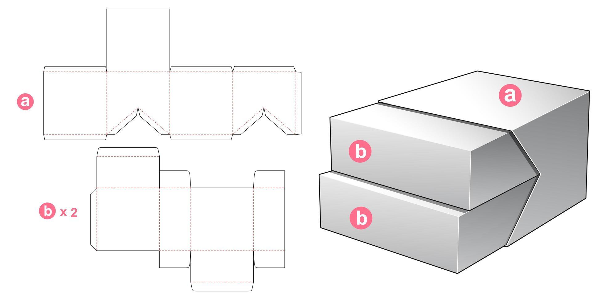 2 in 1 Box vektor