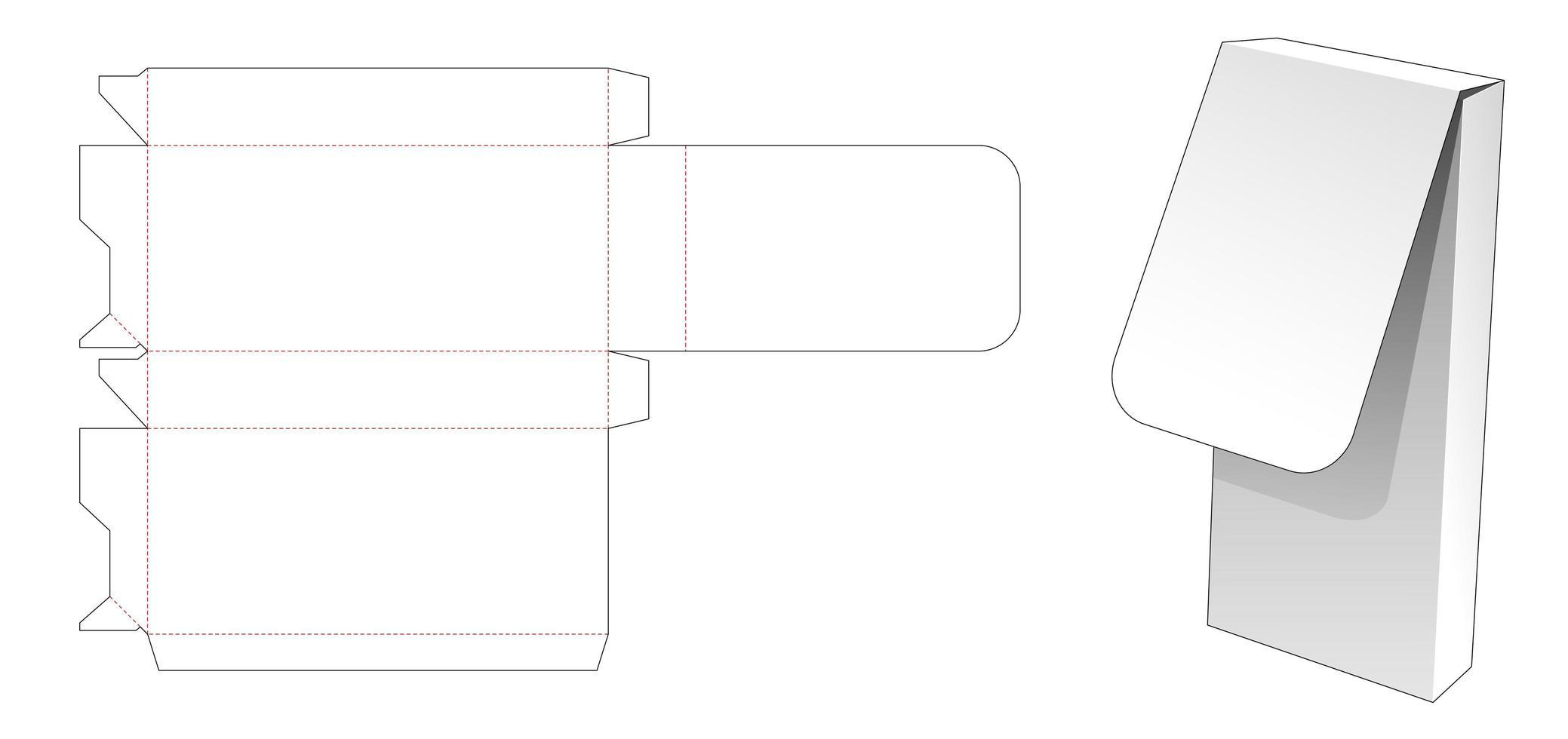 tunn flipbox vektor