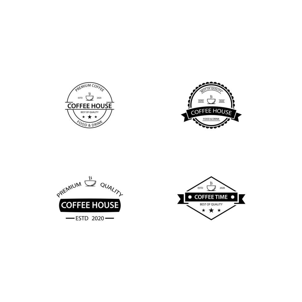 kafé ikon mall mall vektor