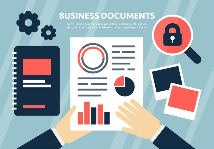 Marknadsföring Business Vector Illustration