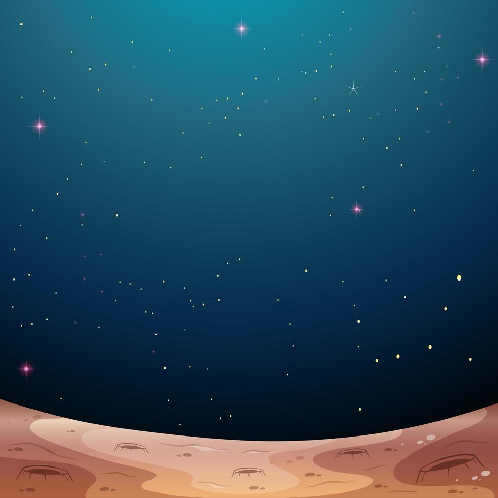 en galax rymd tema bakgrund vektor
