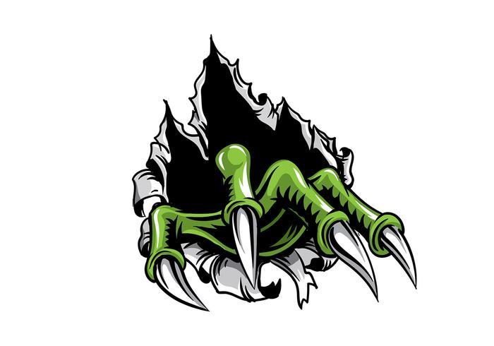 Metal Tear Monster Claw vektor