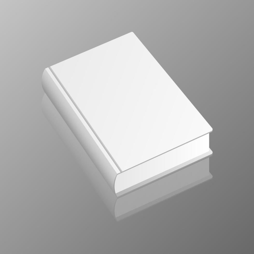 stilvolles Buchmodell vektor