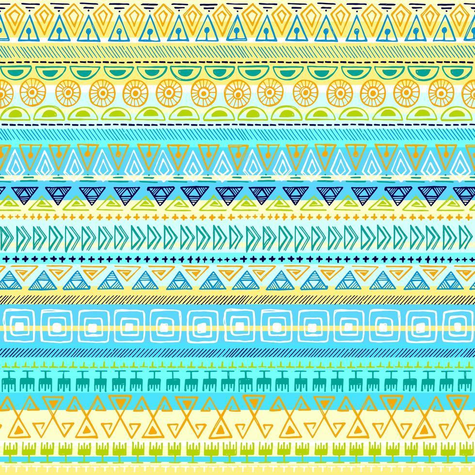 etniska stam sömlösa mönster vektor