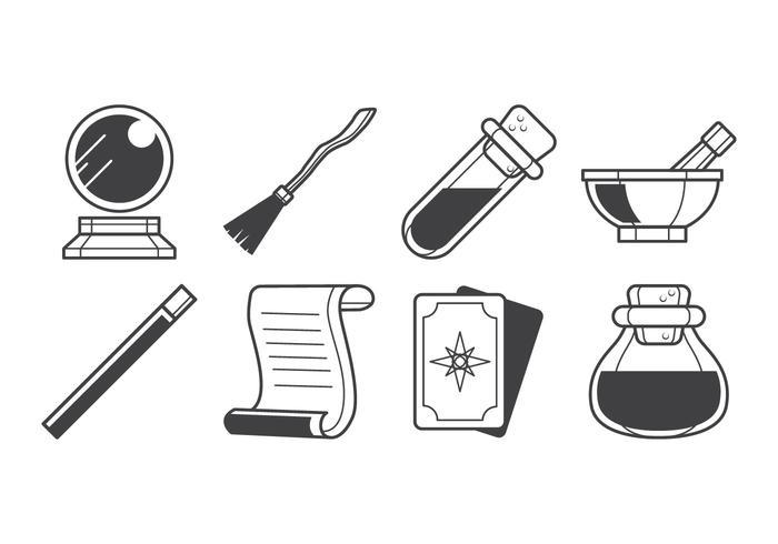Free Magic Stuff Icon Vektor