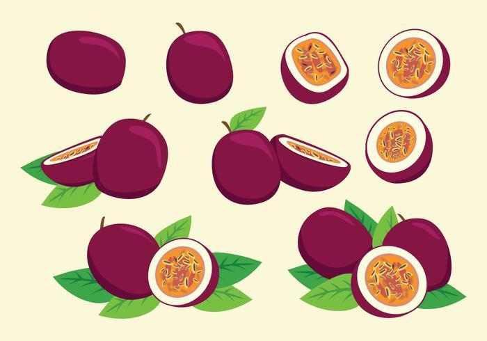 Gratis Passion Fruit Vector