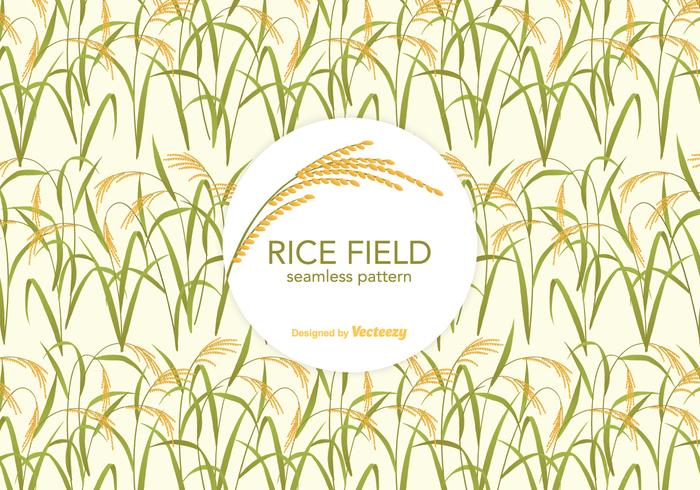 Gratis Rice Field Vector Pattern