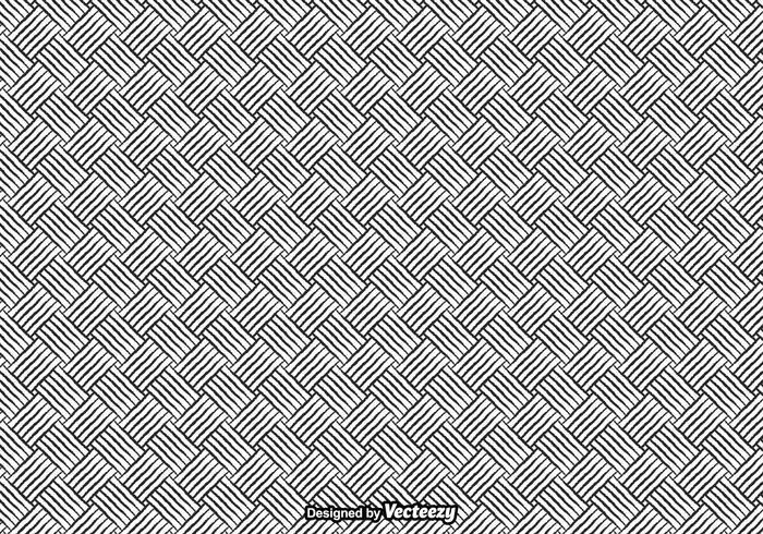 Free Crosshatch Nahtlose Muster Vektor