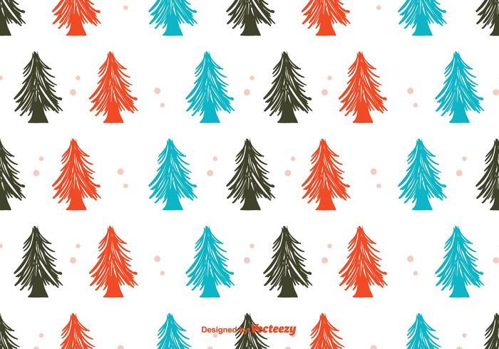 Winter Wald Hintergrund vektor