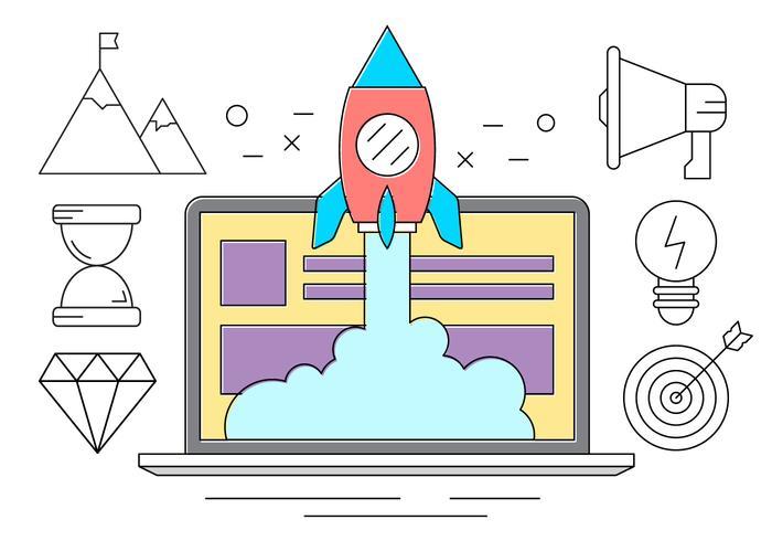 Gratis Startup Vector Collection