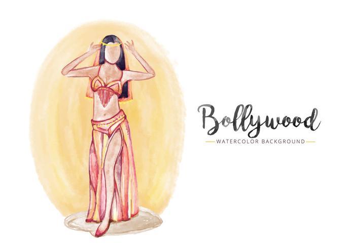 Gratis Pop Corn Bollywood Bakgrund vektor