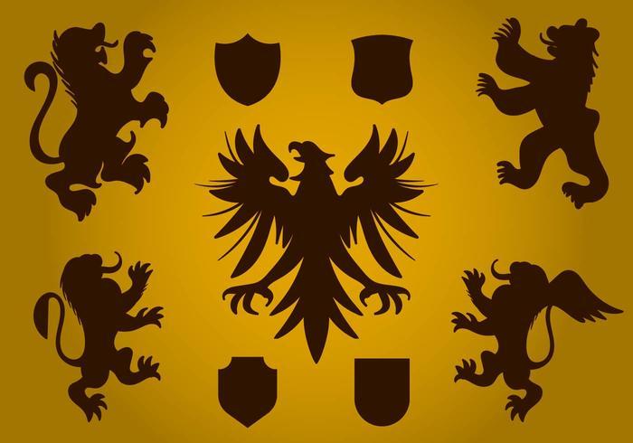 Free Heraldy Symbol Vektor