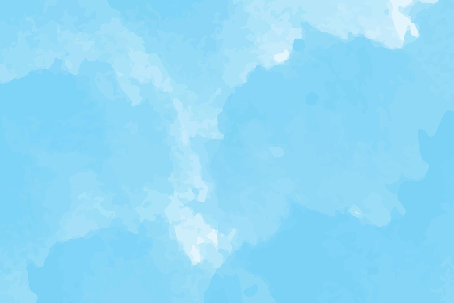 blå akvarell himmel bakgrund vektor