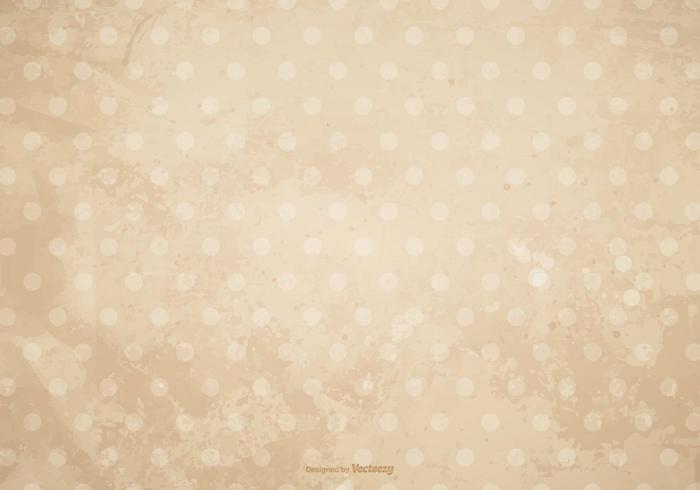 Dirty Grunge Polka Dot Hintergrund vektor