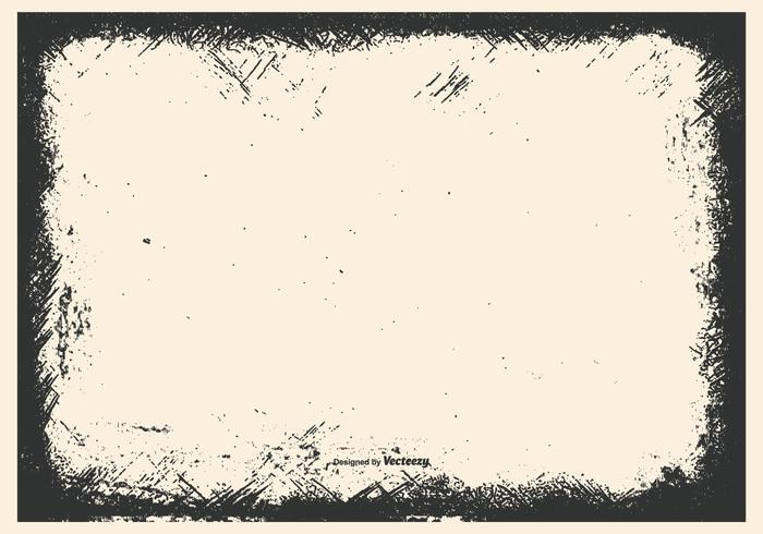 Grunge Vector Frame Bakgrund