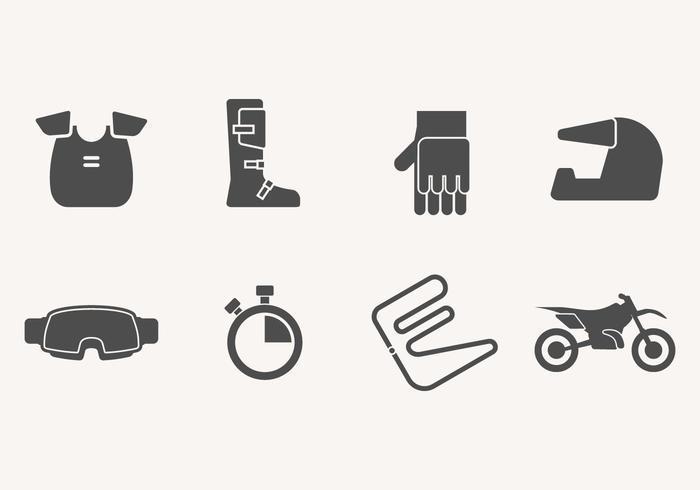 Dirt Bike Icon vektor