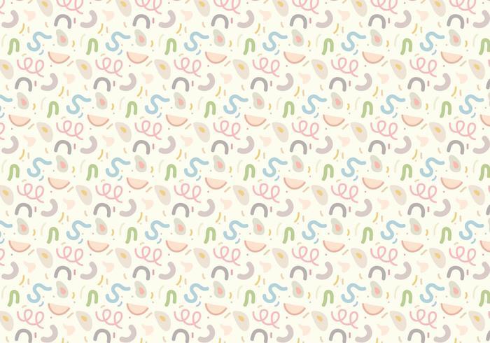 Pastell geometrisk mönster vektor