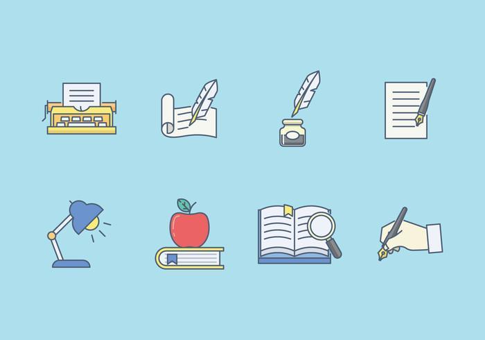 Freie Literatur Vektor