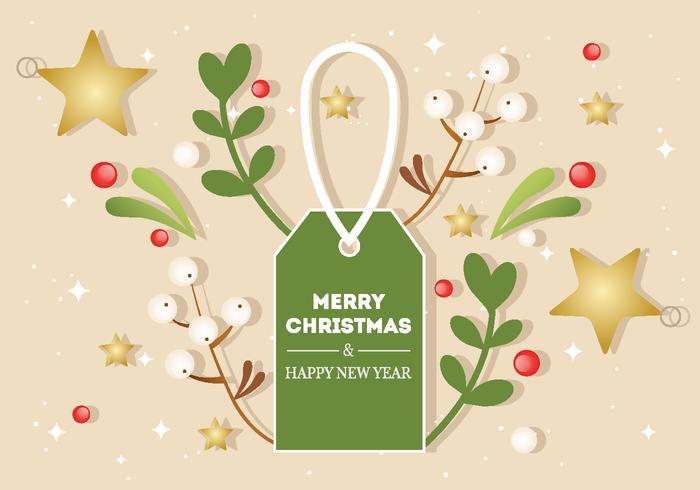 Gratis Vector Christmas Bakgrund