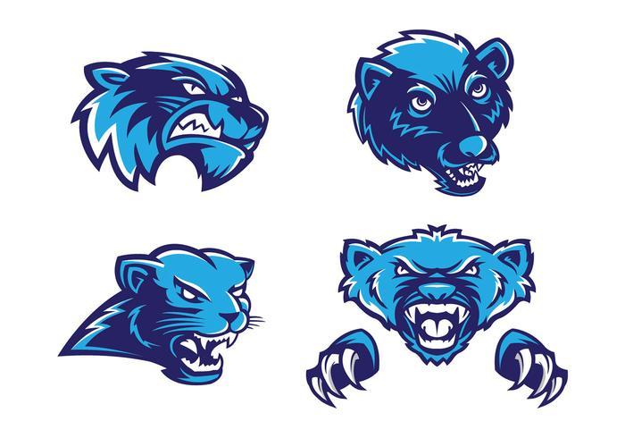 Free Bearcat Vektor