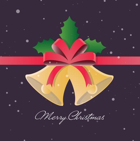 Weihnachten Vektor Glocken Illustration
