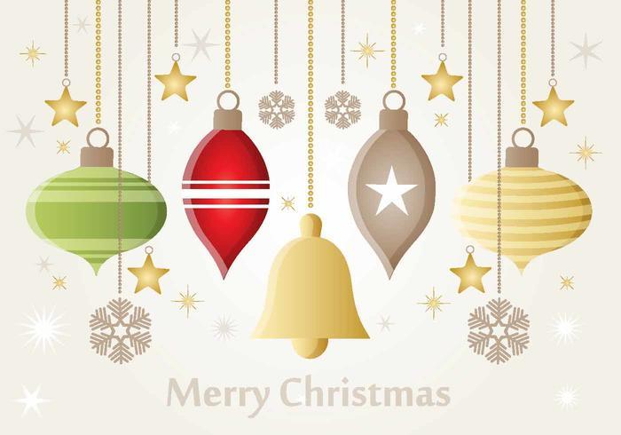 Weihnachten Vektor Ornamente