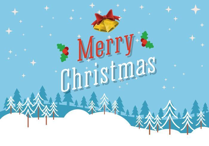 Free Vector Frohe Weihnachten Hintergrund