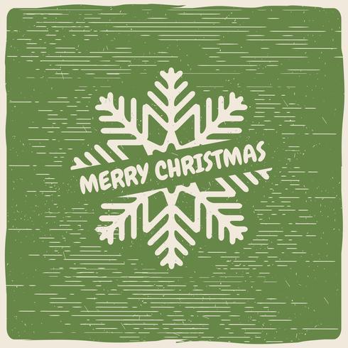 Gratis Vector Christmas Snow Flake
