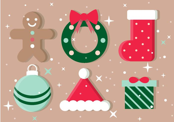 Free Weihnachten Vektor-Icons vektor