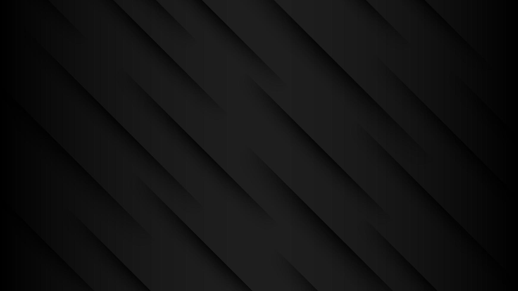 svart vinklat pappersslitsdesign vektor