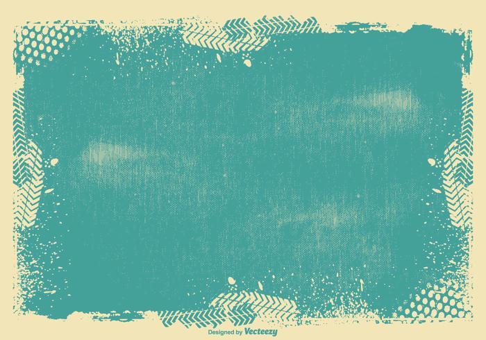 Grunge Grenze Hintergrund vektor