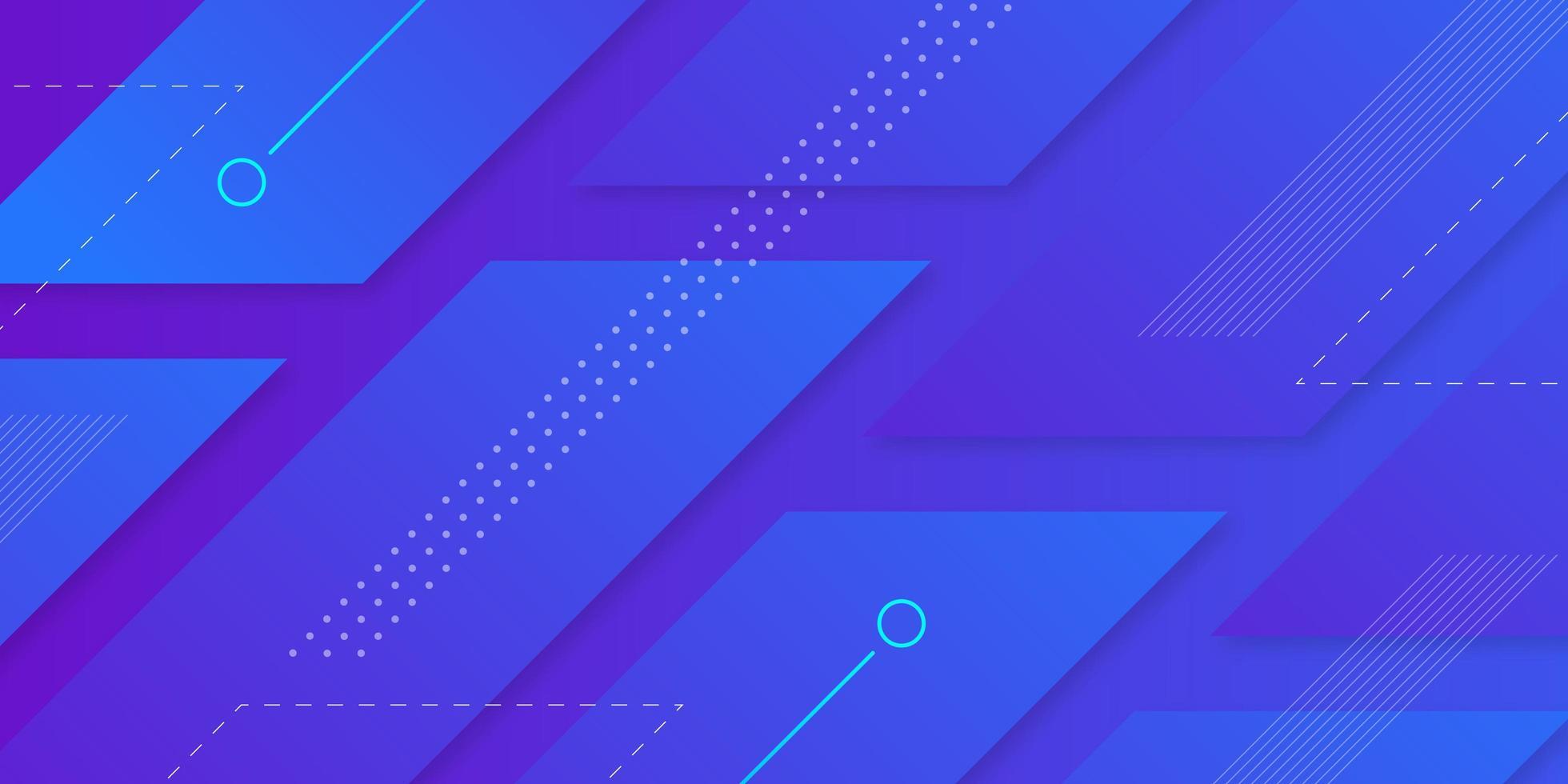 futuristischer geometrischer Hintergrund vektor
