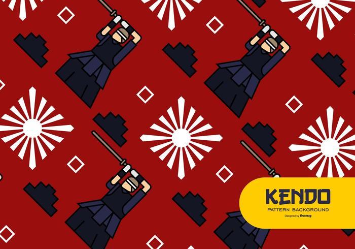 Kendo Hintergrund vektor