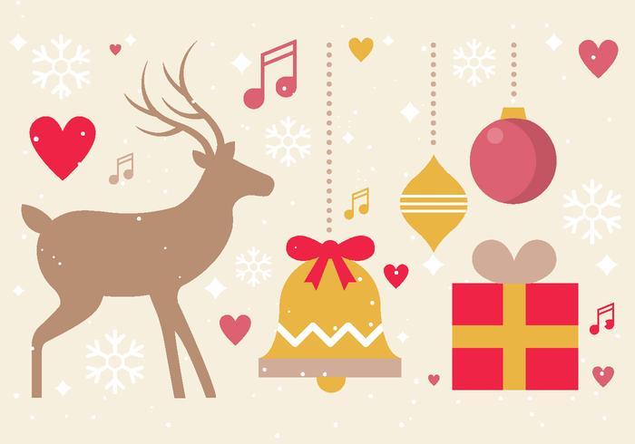 Free Vector Christmas Design Elemente