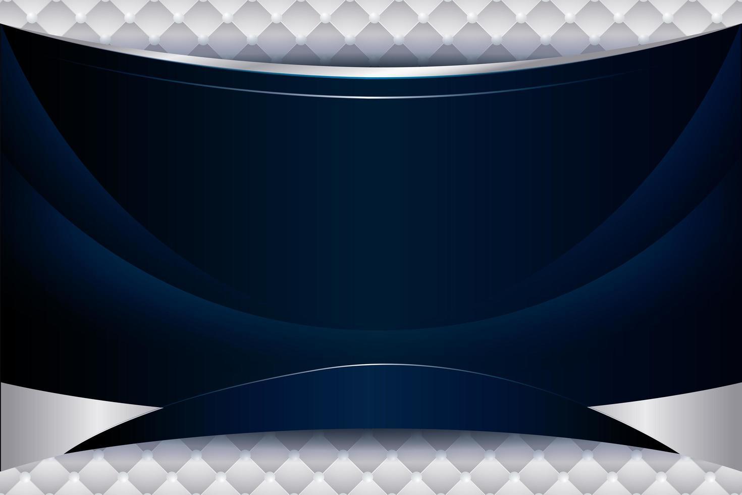 glatter blauer Hintergrund mit Wellengradient vektor