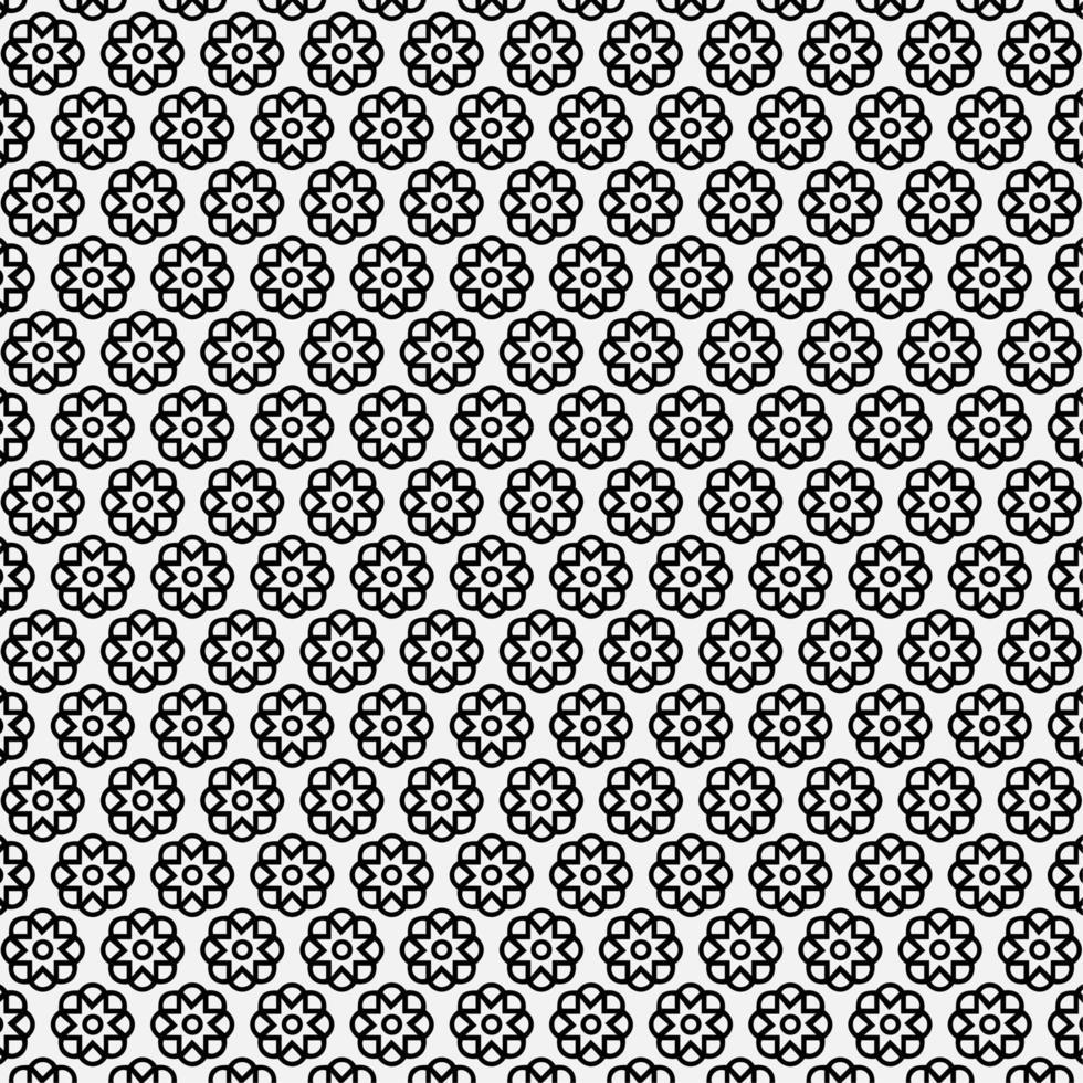 abstrakt blommönster bakgrund vektor