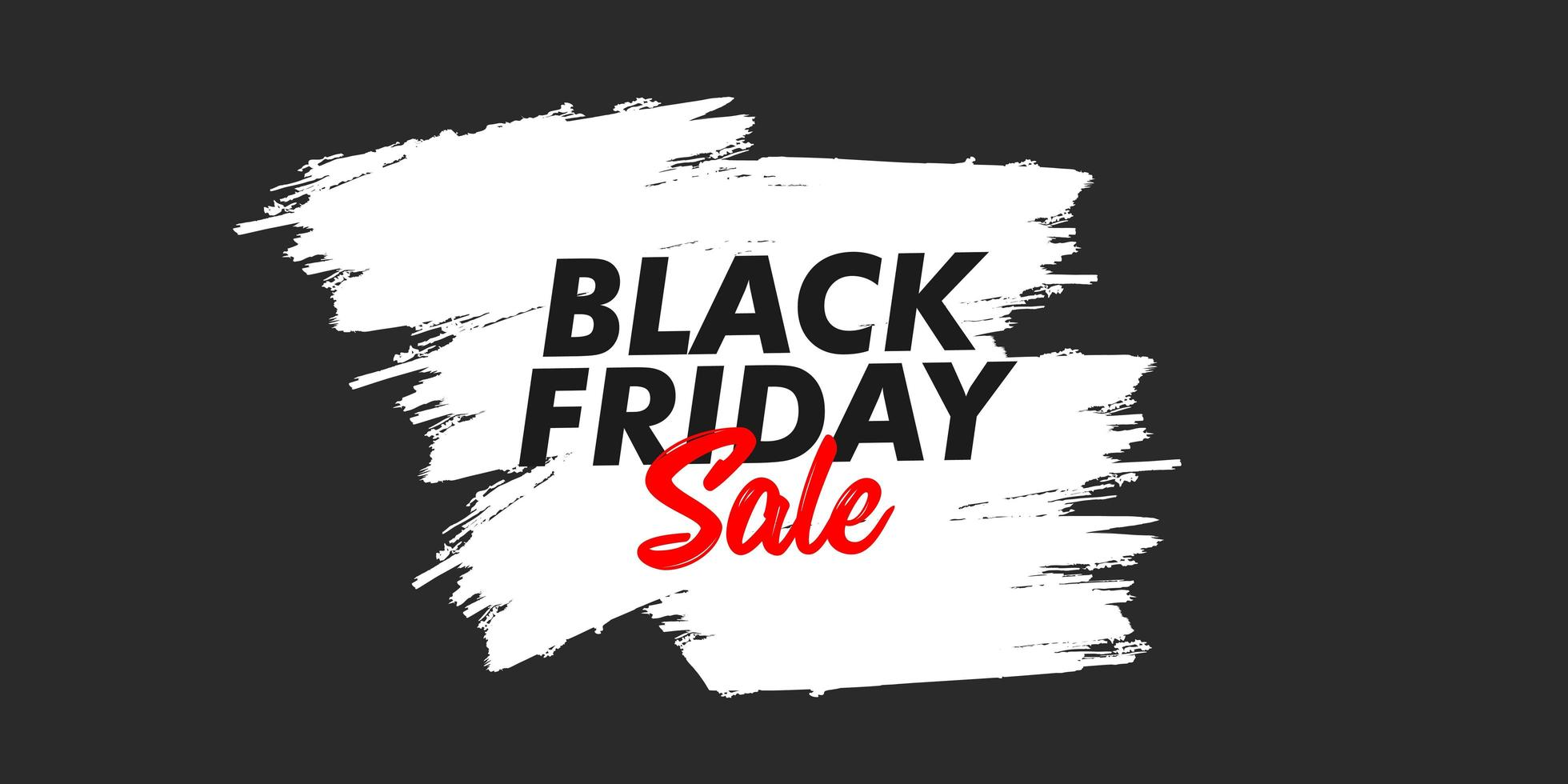 svart fredag försäljning banner formgivningsmall vektor