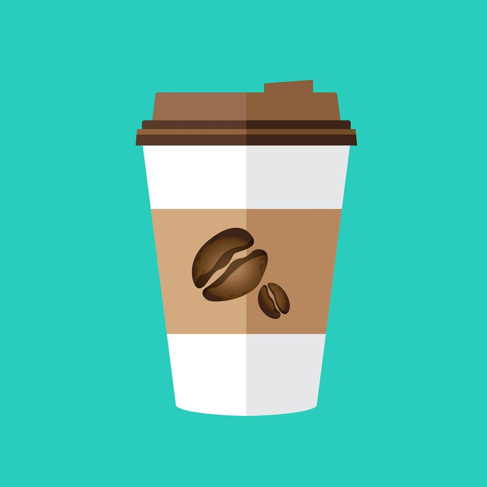Kaffeetasse isoliert vektor