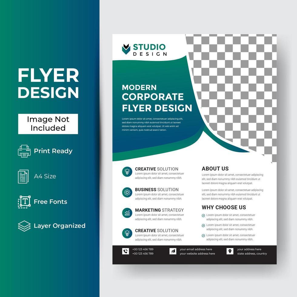 it Company Flyer Corporate Banner vektor