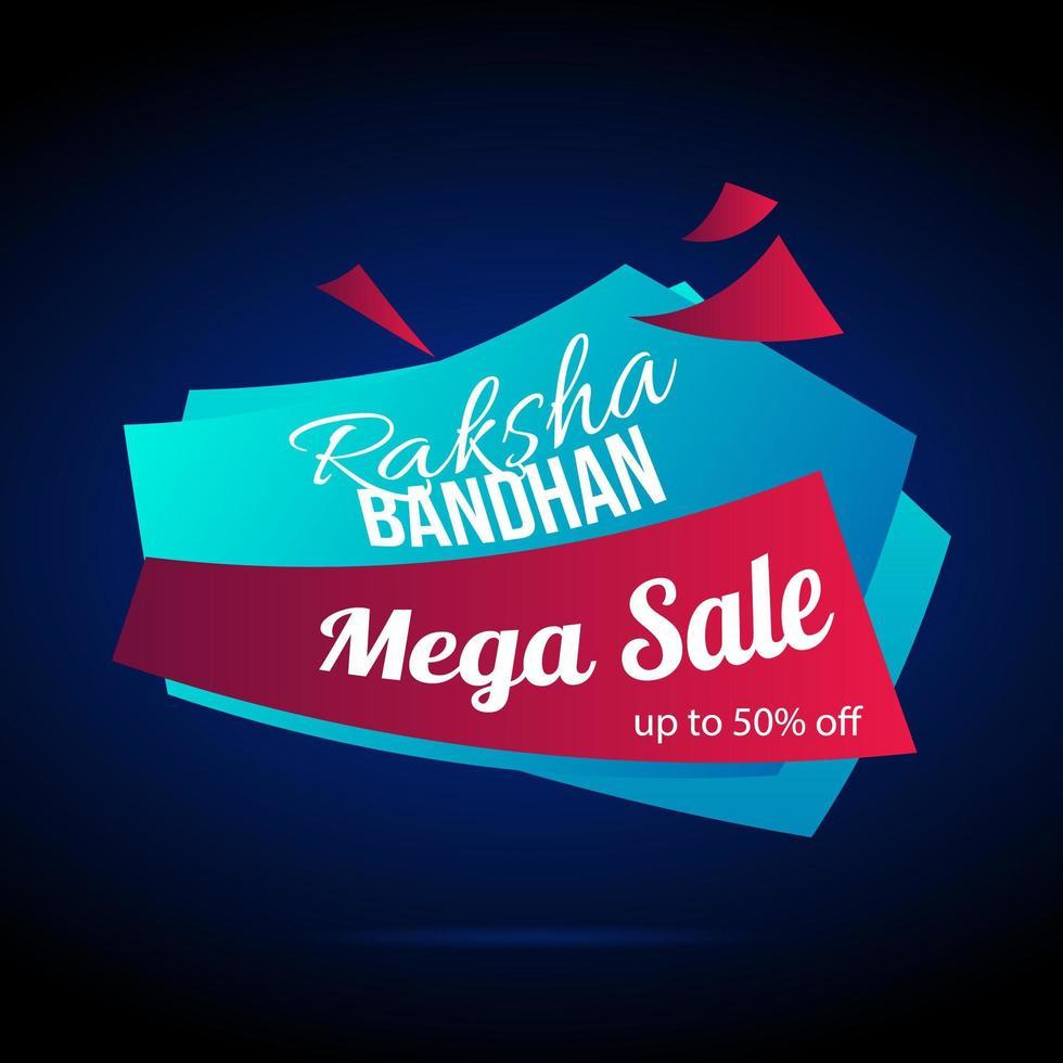 Raksha Bandhan großer Verkauf vektor
