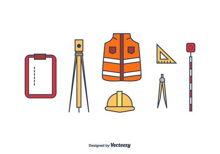 Surveyor Vektor-Set vektor