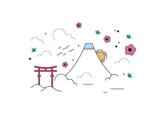 Free Mount Fuji Vektor