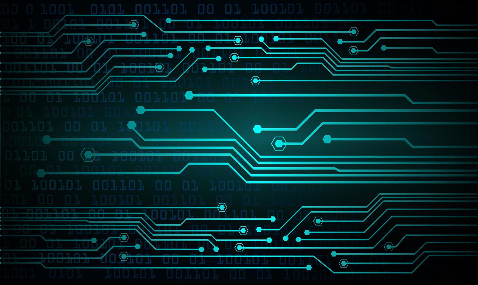 blauer Licht abstrakter Technologiehintergrund vektor