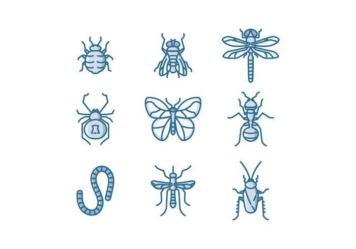 Gratis Insekter Vector