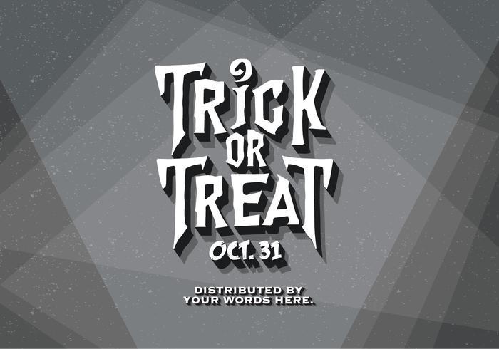 Klassisk film Halloween vektor